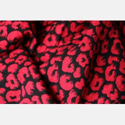 Yaro Pussycat Ultra Black Red Tencel Glam Ring Sling