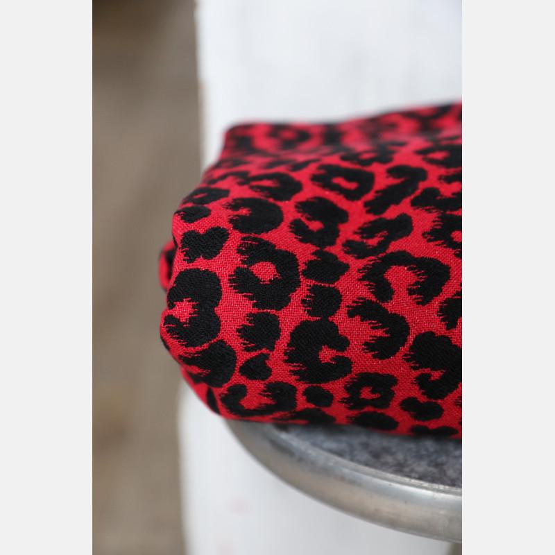 Yaro Pussycat Ultra Black Red Tencel Glam