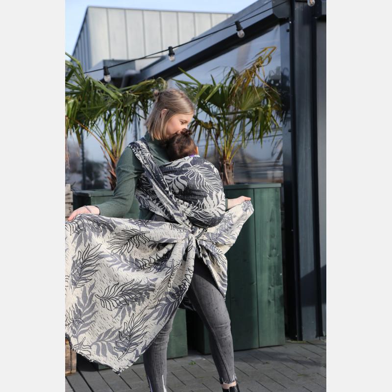Yaro Oasis Puffy Grey Natural Bourette Glam