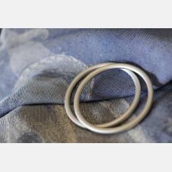 Yaro Moonkeeper Dark-Blue Hemp Ring Sling