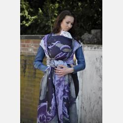 Yaro Moonkeeper Trinity Silver Violet Glam Ring Sling