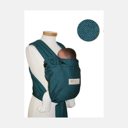 Storchenwiege Baby Carrier Turkis