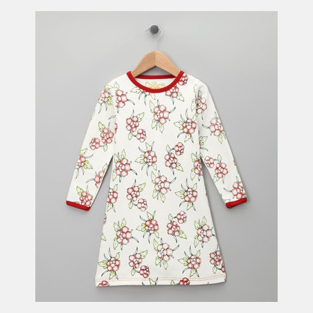 Dress Long Sleeve Flowers