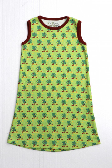 Biowolk Dress No Sleeve Trees