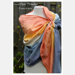 Girasol Snow Flame Diamond Ring Sling