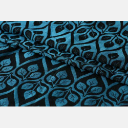 Yaro La Vita Blue-Black Linen