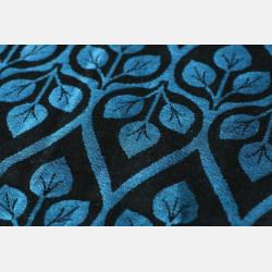 Yaro La Vita Blue-Black Linen Ring Sling