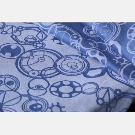 Yaro Quantum Cobalt Blue Linen unhemmed fabrics
