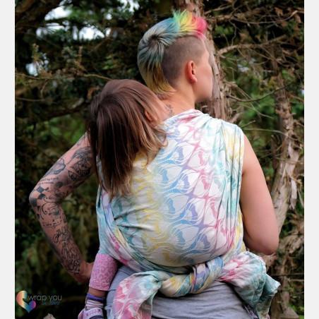 Yaro La Fleur Summer Rainbow Ring Sling