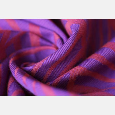 Yaro Dandy Violet Orange Wool