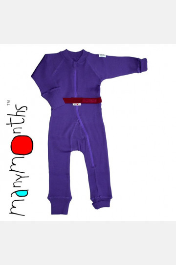ManyMonths Wool One Piece Suit Purple Peace