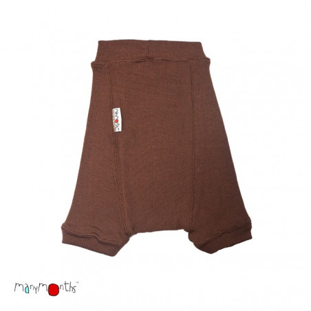 ManyMonth Wool Shorty Spicy Chocolate