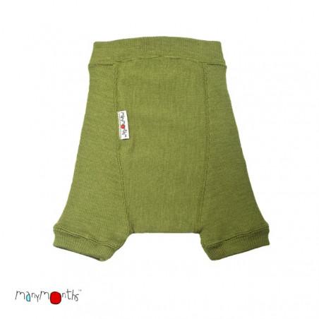 ManyMonth Wool Shorty Garden Moss Green