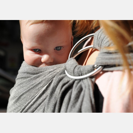 Girasol Graphite Diamond Ring Sling