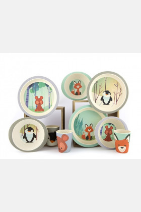 Yuunaa Bamboo Tableware