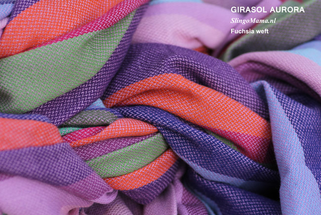 draagdoek Girasol Aurora Slingomama Exclusive