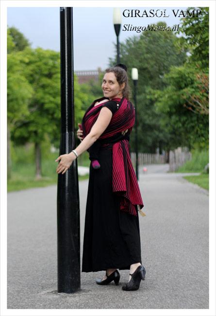 draagdoek Girasol Vamp Slingomama Exclusive